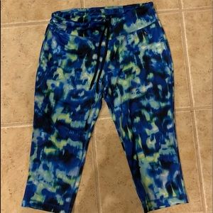 Multi colored Danskin capris leggings